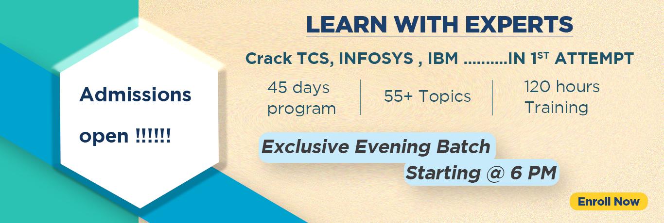 CRT Training in Hyderabad | Best Aptitude Training for AMCAT